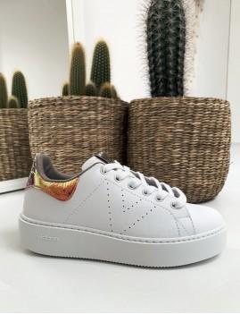 Baskets Victoria gipsy vinyle compensées - Boutique L'ananas