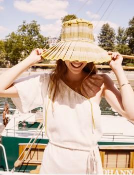 Robe asymétrique bohemian girl - Boutique L'anana(s)