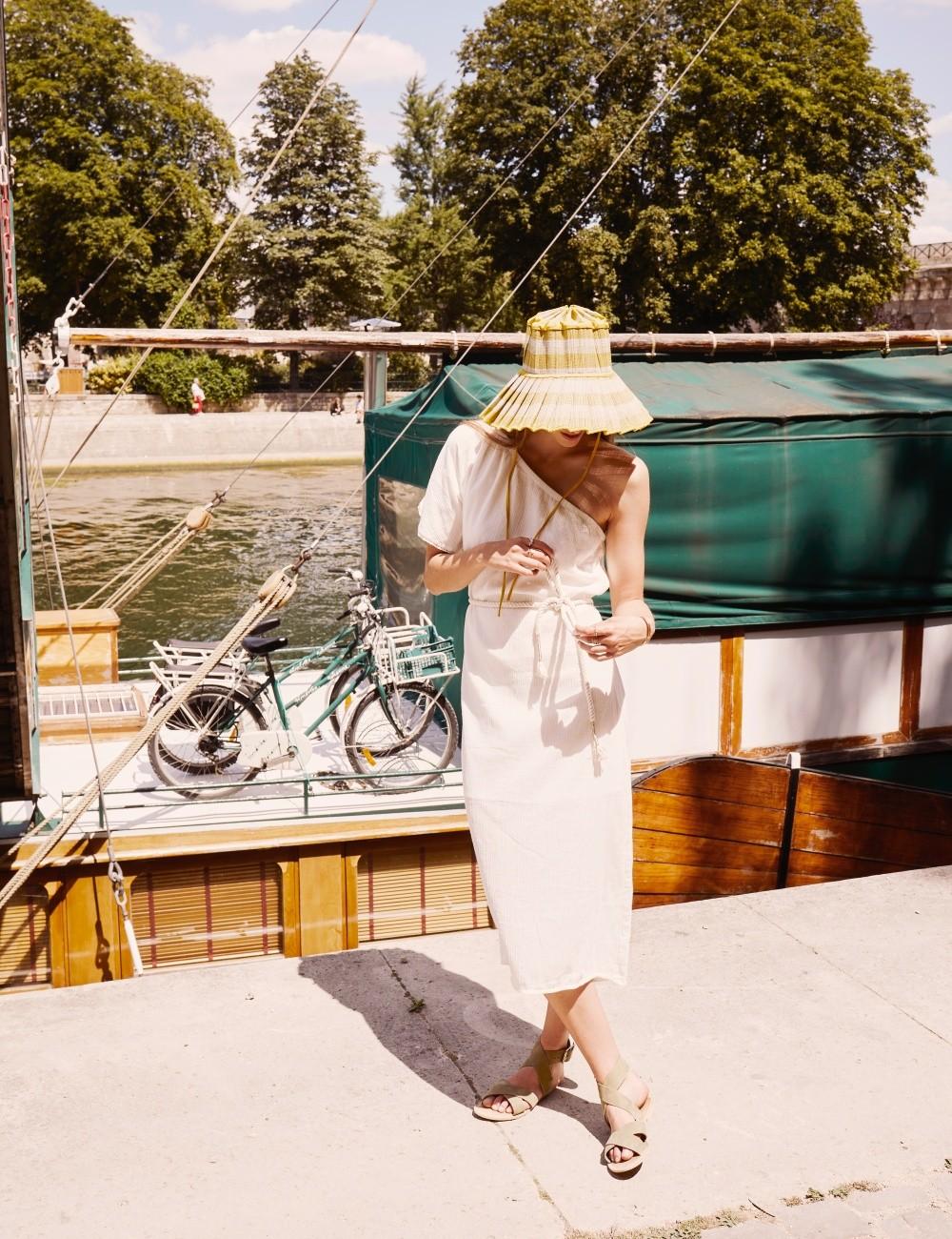 Robe asymétrique boho - Boutique L'anana(s)