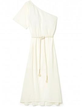 Robe asymétrique bohème LAURA - Boutique L'anana(s)
