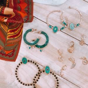 Boho Vibes ☮️✝️ Nouvelle Collection de bijoux bohèmes à retrouver sur notre eshop bordelais. 💕 . . #bijouxboheme #boheme #bohovibes #hippievibes #gipsystyle #bordeaux #boutiquelananas #lananas #bouclesdoreilles #creole #hippiestyle